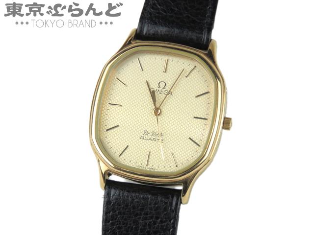1円 オメガ デビル メンズ腕時計 Qz アンティーク