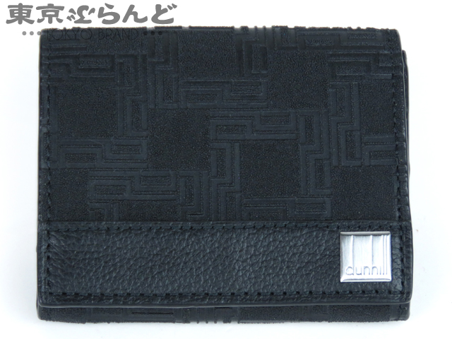 ダンヒル コインケース/小銭入れ レザー ブラック GK