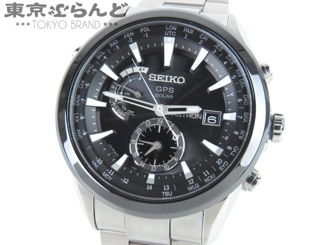セイコー アストロン SBXA003 GPS 電波 腕時計 新同品