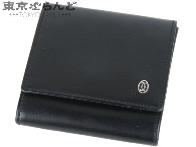 カルティエ パシャ コインケース 小銭入れ 黒 1