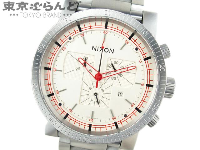 ニクソン MAGNACON メンズ腕時計 クロノ  QZ